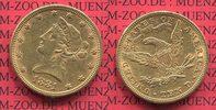 10 Dollars Goldmünze Eagle Coronet Head 1881 USA USA 10 Dollars Liberty... 617,28 EUR
