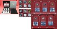6 x 10 FRW 2014 Ruanda, Rwanda The Noble 6 - Sechs verschiedene Metalle... 1199,00 EUR  excl. 8,50 EUR verzending