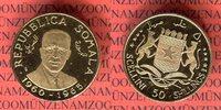 50 Shillings Goldmünze 1966 Somalia Republica Somala 5 Jahre Unabhängig... 275,00 EUR265,00 EUR  +  8,50 EUR shipping