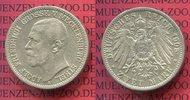 2 Mark Silber Kursmünze 1905 Mecklenburg S...