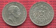 5 Mark Silbermünze 1907 E Sachsen, Saxony ...