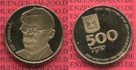 500 Schekel  goldcoin Commemorative 1980 I...