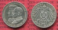 2 Mark Silber 1909 Sachsen Uni Leipzig, Friedrich August III. vz  59,00 EUR  +  8,50 EUR shipping