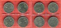 4 x 2 DM komplett 1951 D F G J Bundesrepublik Deutschland Weintraube Äh... 59,00 EUR  +  8,50 EUR shipping