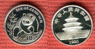 10 Yuan Silbermünze 1990 China Volksrepublik PRC Panda 1 Unze Silber La... 65,00 EUR  + 8,50 EUR frais d'envoi