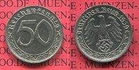 50 Pfennig 1939 A Deutschland 1933-1945 1933-1945 50 Pfennig 1939 A Ni ... 39,00 EUR  + 8,50 EUR frais d'envoi