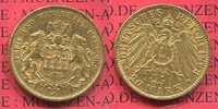 20 Mark Goldmünze 1893 J Hamburg, German Empire Free City of Stadtwappe... 335,00 EUR  +  8,50 EUR shipping