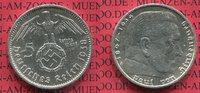 5 Reichsmark Erhaltung ! 1938 A III. Reich Kursmünze mit Hoheitszeichen... 19.95 US$18,00 EUR18.29 US$ 16,50 EUR  +  9.42 US$ shipping