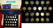 21 x 2 Euro Gedenkmünzenset 2012 Europa Zehn Jahre Euro - In Leuchtturm... 99.29 US$ 89,00 EUR  +  27.89 US$ shipping