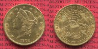 USA 20 Dollars Gold Liberty  Double Eagle 1904 vz USA 20 Dollars Liberty... 1275,00 EUR