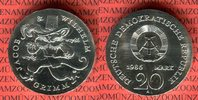 20 Mark Silbermünze DDR 1986 DDR 200. Geburtstag der Gebrüder Grimm, Ge... 220,00 EUR  +  8,50 EUR shipping