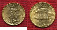 USA 20  Dollars Double Eagle Goldmünze USA 20 Dollars 1924 Gold St. Gaudens Typ,