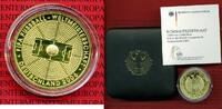 Deutschland BRD 100 Euro Goldmünze 1/2 Unze German 1/2 ounce gold coin 2005 soccer world championship with box and coa