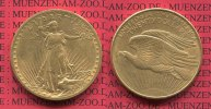 USA 20 Dollars Gold St. Gaudens Double Eagle 1908 D fast vz nicht gerein... 1299,00 EUR +  18,00 EUR shipping