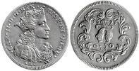 1/2 Ducato 1693 Italien,Neapel,Karl II.v.Spanien  Vorzüglich  480,00 EUR