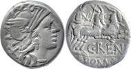 Denar 138 v.Chr. Rom,C.Renius  sehr schön  65,00 EUR