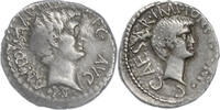 Denar 39 v.Chr. Rom,Marc Anton und Octavian  Sehr schön/Vorzüglich  955,00 EUR