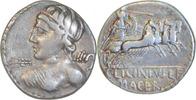 Denar 84 v.Chr. Rom,C.Licinius Macer  Sehr schön  90,00 EUR