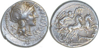 Denar 115-114 v.Chr. Rom,M.Cipius  Vorzüglich  90,00 EUR