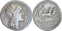 Denar 110-109 v.Chr. Rom,C.Claudius Pulcher  Gutes vorzüglich  137,00 EUR