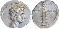 Denar 29-27 v.Chr. Rom,Augustus  Vorzüglich, Rs. l. dezentrirt  1185,00 EUR