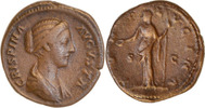 As oder Dupondius 177-180 n.Chr. Rom,Commodus für Crispina  gutes sehr ... 75,00 EUR