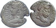 Billon-Tetradrachme 67-68 n.Chr. Ägypten, Alexandria, Nero / Poseidon  ... 110,00 EUR