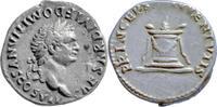 Titus für Domitian,Denar 80 n.Chr.,Rom vz,kl.Sf.a.d.Vs.  135,00 EUR  +  5,00 EUR shipping