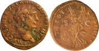 M.U.Traianus.As 101 n.Chr., Rom. Patina Fleck,sonst vorzüglich  95,00 EUR  +  5,00 EUR shipping