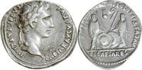 Denar 7-6 v.Chr. Rom,Augustus  Sehr schön,S-Punze im Feld  235,00 EUR