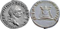 Denar  Rom,Titus für Domitian  vz,kl.Sf.a.d.Vs.  135,00 EUR