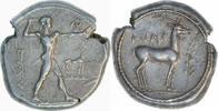 Stater 500-480 v.Chr. Kalabrien, Bruttium, Kaulonia  Fast Vorzüglich/Vo... 1450,00 EUR