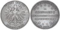 Vereinstaler 1859 Frankfurt a.M. FRANKFURT FREIE STADT Fast St.  105,00 EUR