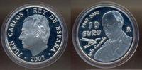 10 Euro 100. Geburtstag von Luis Cernuda 2002 Spanien:  PP  35,00 EUR  +  3,00 EUR shipping