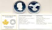 5 $ Royal Canadian Mint Wanderfalke 2014 Kanada: Etui + COA PP  58,00 EUR  +  3,00 EUR shipping