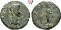 Bronze 41-54 Aiolis Aigai, Claudius I., 41-54 f.ss, schwarz-grüne Patina  290,00 EUR