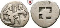 Stater 525-463 v.Chr. Thrakische Inseln Thasos ss+  1200,00 EUR  +  10,00 EUR shipping