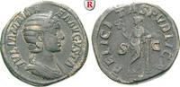 Sesterz 228  Julia Mamaea, Mutter des Severus Alexander, +235 ss  220,00 EUR  +  10,00 EUR shipping