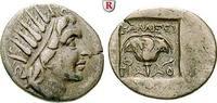 Drachme 166-88 v.Chr. Karien - Inseln Rhodos ss, Schrötlingsriss  220,00 EUR  +  10,00 EUR shipping