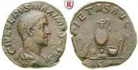 Sesterz 236-238  Maximus, Caesar, 235-238 ss, Schrötlingsrisse, braune ... 450,00 EUR  +  10,00 EUR shipping