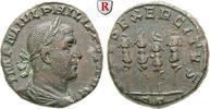 Sesterz 244-249  Philippus I., 244-249 ss+, knapper Schrötling  400,00 EUR