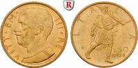50 Lire 1932 Italien Königreich, Vittorio Emanuele III., 1900-1946, Gol... 550,00 EUR  +  10,00 EUR shipping