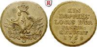 Brandenburg-Preussen Passiergewicht für 2 Louis d`or Königreich Preussen, Friedrich II., 1740-1786