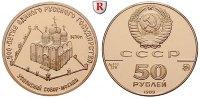 50 Rubel 1989 Russland UdSSR, 1922-1991, Gold, 8,64 g PP  330,00 EUR