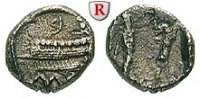 1/8 Schekel  Phönizien Sidon, Strato I., ca. 370-358 v.Chr. vz  /  ss+,... 350,00 EUR