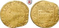 Dukat 1609 Niederlande Utrecht, Gold, 3,47 g ss, l. gewellt; beschnitten  500,00 EUR  +  10,00 EUR shipping