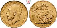 Sovereign 1911 Kanada George V., 1910-1936, Gold, 7,99 g vz, kl. Kratze... 460,00 EUR  +  10,00 EUR shipping