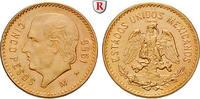 5 Pesos 1955 Mexiko Vereinigte Staaten, seit 1905, Gold, 4,17 g bfr., T... 162,00 EUR  +  10,00 EUR shipping