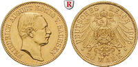 20 Mark 1905 E Sachsen Friedrich August III., 1904-1918, 20 Mark 1905, ... 480,00 EUR