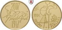 100 Euro 2007 Finnland Republik, Gold, 8,48 g PP, ohne Zertifikat und E... 370,00 EUR  +  10,00 EUR shipping